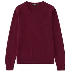 100% Cashmere Crew Neck Sweater (2 210 UAH) ❤ liked on Polyvore featuring tops, sweaters, wine, cashmere sweater, purple cashmere sweater, crew sweater, crew-neck tops and purple sweater