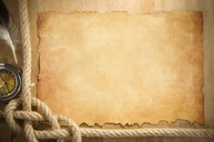ship ropes and compass at parchment old paper background Paper Background Design, Old Paper Background, Parchment Background, Collage Background, Flower Background Wallpaper, Background Vintage, Textured Background, Powerpoint Background Templates, Boarder Designs