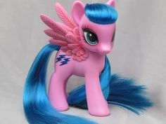 Dark Horse Collectables / G1 as G4 Firefly My Little Pony custom toy - sculpted wings - re hair