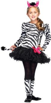 Lil Zebra Costume for Girls - Party City Perfect for emma