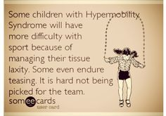 Ehlers Danlos Syndrome Awareness will help diagnose at a younger age so children can have greater support! They may have lose joints rather than simply be uncoordinated and a some aid can make a world of difference!  #EhlersDanlos #EDS