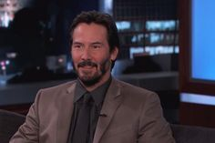 Keanu Reeves Reflects on Turning 50 and His First Acting Gig (Video)