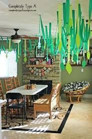 Image result for how to decorate a room jungle zoo birthday party