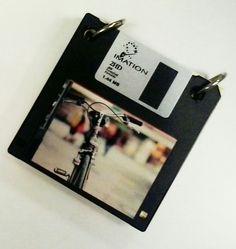 block de notas con diskettes