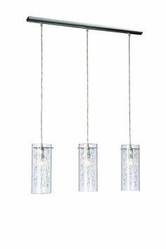 Die Pendelleuchte Kostano von Massive/Philips schmückt jeden Raum mit ihrem stilvollen Design aus Glas