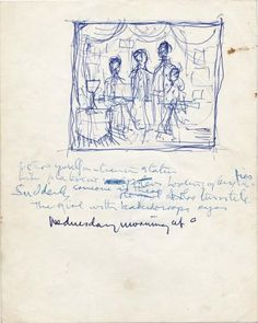 Gypsy Living Traveling In Style| Serafini Amelia| John Lennon's handwritten lyrics for Lucy In The Sky With Diamonds - 1966/7