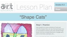 Lots of art lesson plans at this professional development website for art teachers.