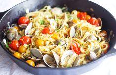 garlic-clams-and-breadcrumb-pasta