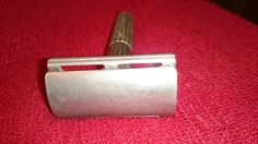 1938 - 1941 Canadian Gillette Tech with triangular slots, before cleaning