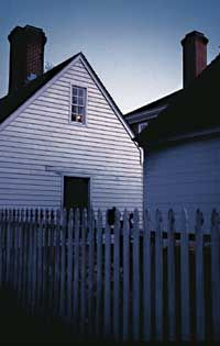 Wythe House just one of the haunted places of Colonial Williamsburg, VA