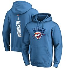 Russell Westbrook Oklahoma City Thunder Backer Pullover Hoodie - Blue
