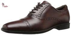 Ecco ECCO EDINBURGH, Derby homme - Marron (MINK01014), 47 EU - Chaussures ecco (*Partner-Link)