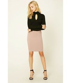 Cutout High-Neck Sweater Black | Imbracaminte Femei Pulovere,Bluze | mycloset.ro