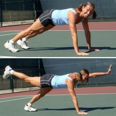If you want to become even stronger tennis player, you need to do some tennis fitness training as well. It is just inevitable. The older and less fit you are, the more you need it. If you are guilty of years of neglect of fitness training, you would really benefit a lot and you would be surprised how fast you will improve. Not just in the fitness (and looks) department, but also on the tennis court.