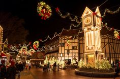 Christmas Town at Busch Gardens Williamsburg, Virginia 2016 Christmas Events, Christmas Town, Christmas Travel, Christmas Villages, Christmas Vacation, Holidays And Events, Christmas Destinations, Merry Christmas, Celebrating Christmas