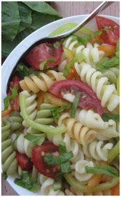 Very delicious pasta salad.
