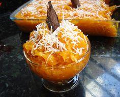 Doce de Abóbora - Brazilian pumpkin dessert (made with cabocha squash, usually).