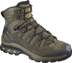 The Salomon Men's Quest 3 GTX Backpacking Boots, Wren/Bungee Cord/Green: The fourth era of our legendary Speedcross lug sample is a fair hungrier monster for consuming up smooth, technical trails Feel one with the path with a Clout Mens Hiking Boots, Men Hiking, Hiking Shoes, Running Shoes, Men Boots, Trekking Shoes, Chaco Flip Flops, Backpacking Boots, Climbing Shoes