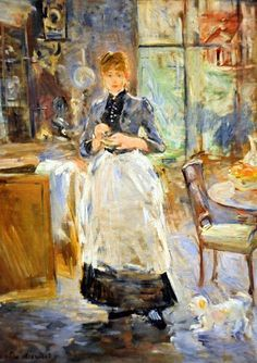 Berthe Morisot - In the Dining Room, 1886