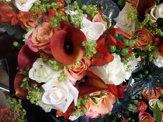 Bridesmaid bouquet in autumnals