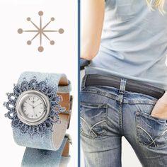 """....""""I put on my jeans and I feel all right""""... Mit Deja vu finden Sie zu jedem Outfit die passende Uhren-Kombination. Eine Vielfalt an Schmuckscheiben und Uhrenbändern macht dies möglich. http://www.dejavu.de/ http://instagram.com/dejavuuhr https://twitter.com/DejavuUhr www.facebook.com/DejavuKirchheim"""