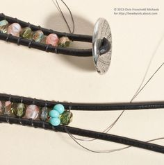 wrap bracelet diy - Google Search