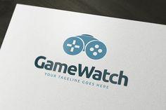 Game Watch Logo by PixaSquare on @creativemarket