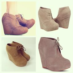 Wedge Booties- I have these from Charlotte Russe