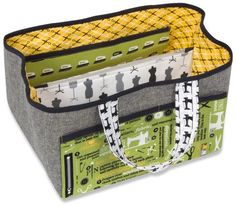 Free pattern download for this bag organiser!