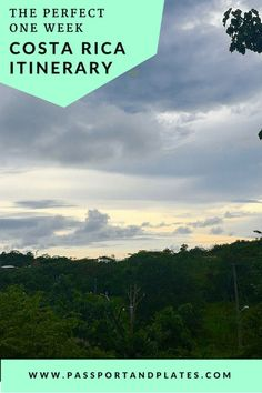 The Perfect Costa Rica Itinerary for One Week: 7 Days of Pura Vida Honduras, Tulum, Cuba, And So It Begins, Costa Rica Travel, México City, South America Travel, North America, Mardi Gras