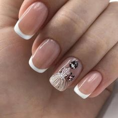 20 Ballerina Nails Acrylic Nail Designs Make You Elegant for New Year acrylic nail ideasmanicure ombre acrylic nails ? Acrylic Nail Designs, Nail Art Designs, Acrylic Nails, Design Art, Bride Nails, Wedding Nails Design, Wedding Manicure, French Tip Nails, French Manicures