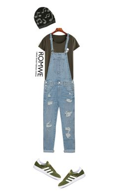 """""""#159"""" by diva-calista ❤ liked on Polyvore featuring Music Notes, True Religion and adidas"""