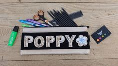 Personalised Long Pencil Case