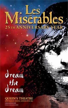 Les Misérables Artwork from 2010, celebrating the production's 25th Anniversary. #theatre #lesmis #musicals www.lesmis.com