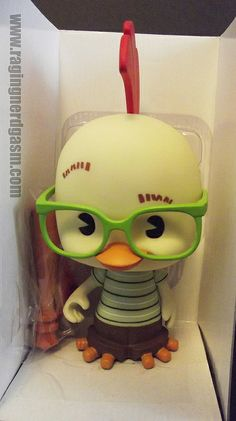 Disney's chicken little vinyl toy https://www.flickr.com/photos/ragingnerdgasm/sets/72157634456046278