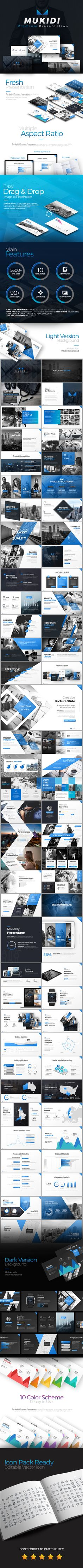 creative business powerpoint presentation template | creative, Presentation templates