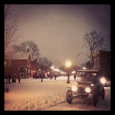 Greenfield Village in Dearborn, MI