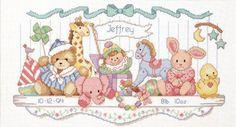 baby cross stitch patterns free - Αναζήτηση Google
