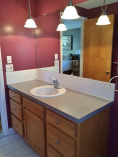 Hometalk :: Master Bath Redo for $150