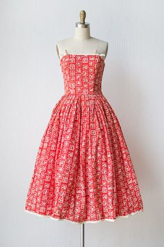vintage 1950s dress | 50s dress | Lydia from Fairhaven Dress #vintage #1950sdress