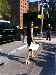 Fashion Designer Walking... mbfw-spring-2012