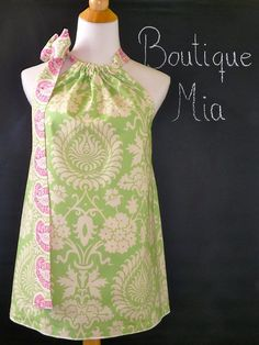 Pillowcase TOP  Amy Butler  Love  Made in ANY by BoutiqueMiaByCXV, $44.00
