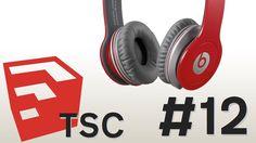 Building Beats By Dr Dre Solo Headphones In Trimble Sketch-up