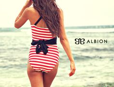LOVE their swimsuits. And this comes from an avowed swimsuit hater! Albion Fit Showstopper Swimsuit
