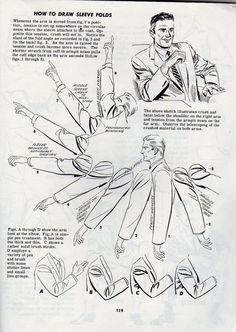 Art Tutorials - Pliegues de ropa: