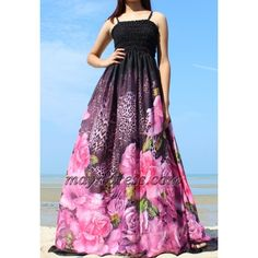 Maxi Dress Plus Size Dress Prom Dress Wedding Online Summer Sexy Bridesmaids Black Pink