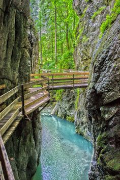 Floating walkway / Dornbirn, Austria