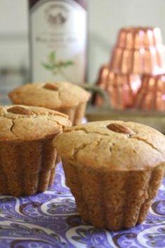 卵・バター不使用 米粉のアーモンドケーキ Gf Recipes, Sweets Recipes, Baking Recipes, Cake Recipes, Desserts, Vegan Sweets, Healthy Sweets, Healthy Baking, Gluten Free Muffins