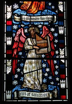 Detail, William Morris window, Cattistock Church - William Morris - Wikipedia, the free encyclopedia