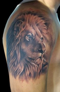 Today we are going to talk about lion tattoos ideas. Lion give us the inspiration to rule. These tattoos are not that rare among the men and women. Lion Tattoo Images, Lion Head Tattoos, Mens Lion Tattoo, Lion Tattoo Design, Leo Tattoos, Arm Tattoos For Guys, Animal Tattoos, Tattoo Designs Men, Hand Tattoos